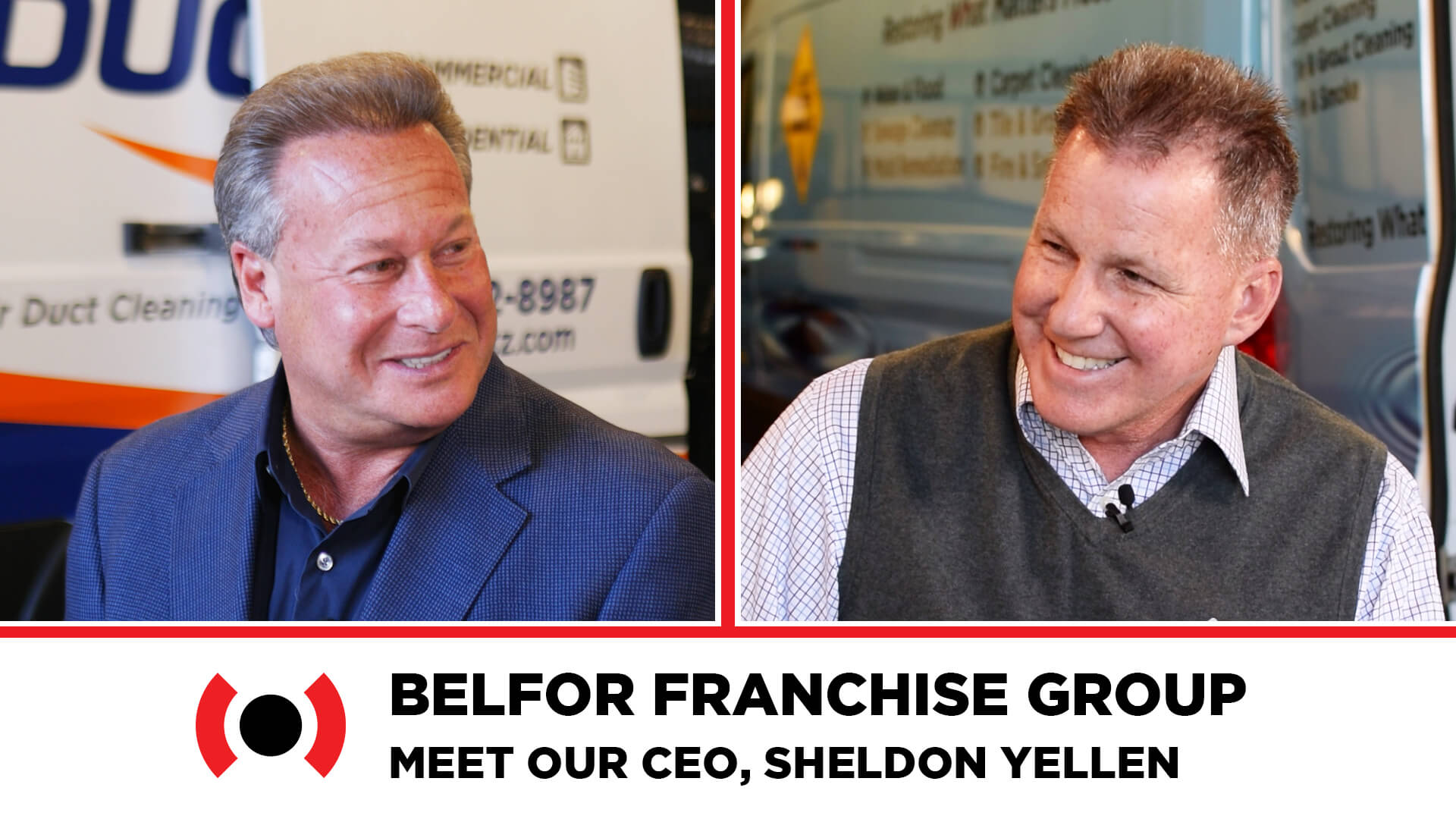 HOODZ franchise BELFOR Franchise Group CEO Sheldon Yellen and Ken Osness